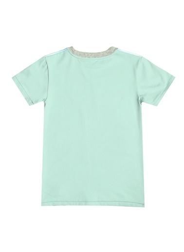 Asymmetry Tişört Yeşil
